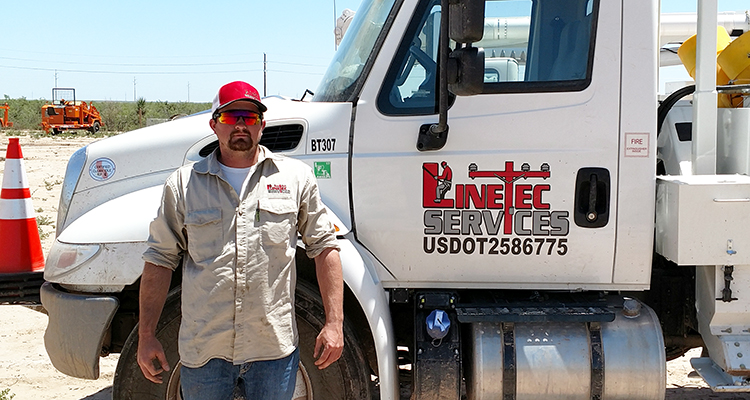 Texan Cameron Meyer found apprenticeship provided a path to career opportunities as an electrical lineman