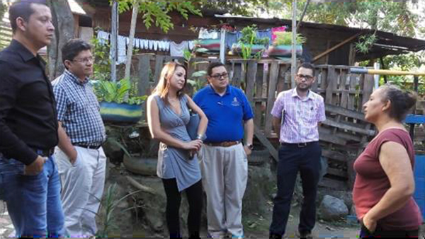 Halima Woodhead in Honduras