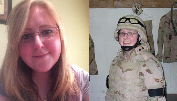 Bethany in the military and as a civilian