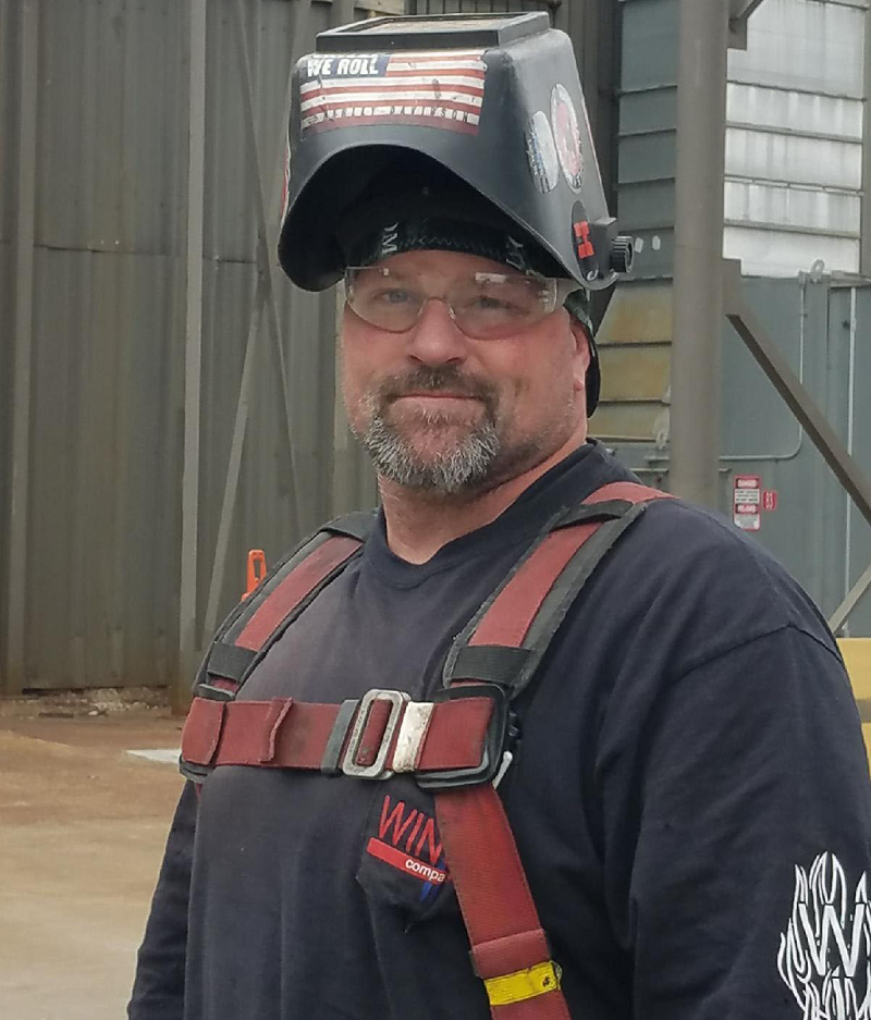 Thanks to the apprenticeship program he completed in prison, Steven started a job as welder with an Iowa company the day after his release.
