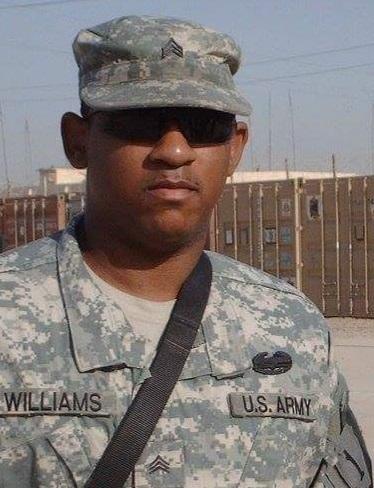 Antonio Williams in the Army