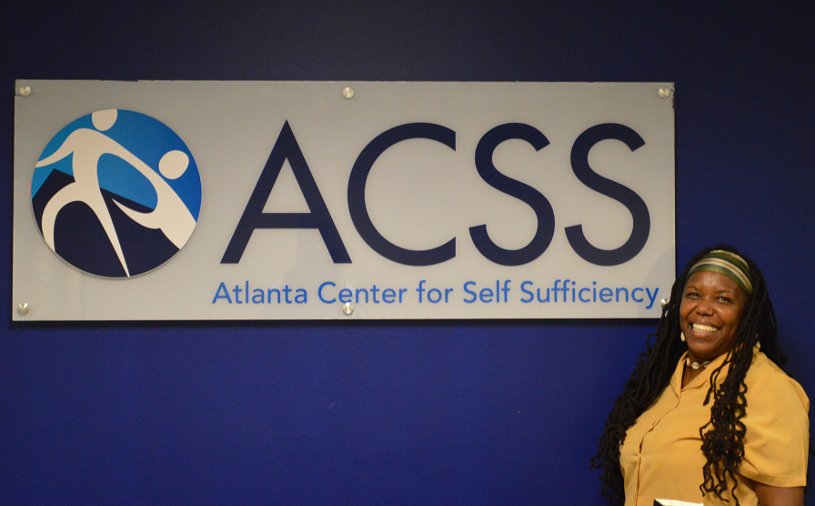 Joy at the Atlanta Center for Self Sufficiency