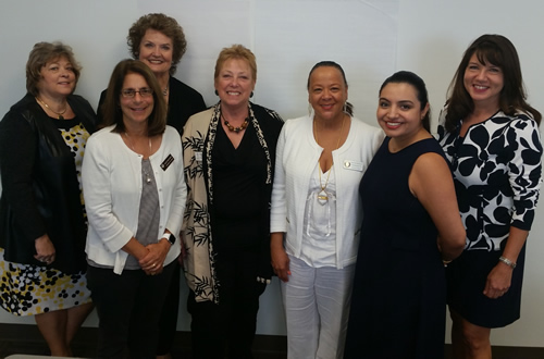 Officers of the Association of California Commissions for Women.