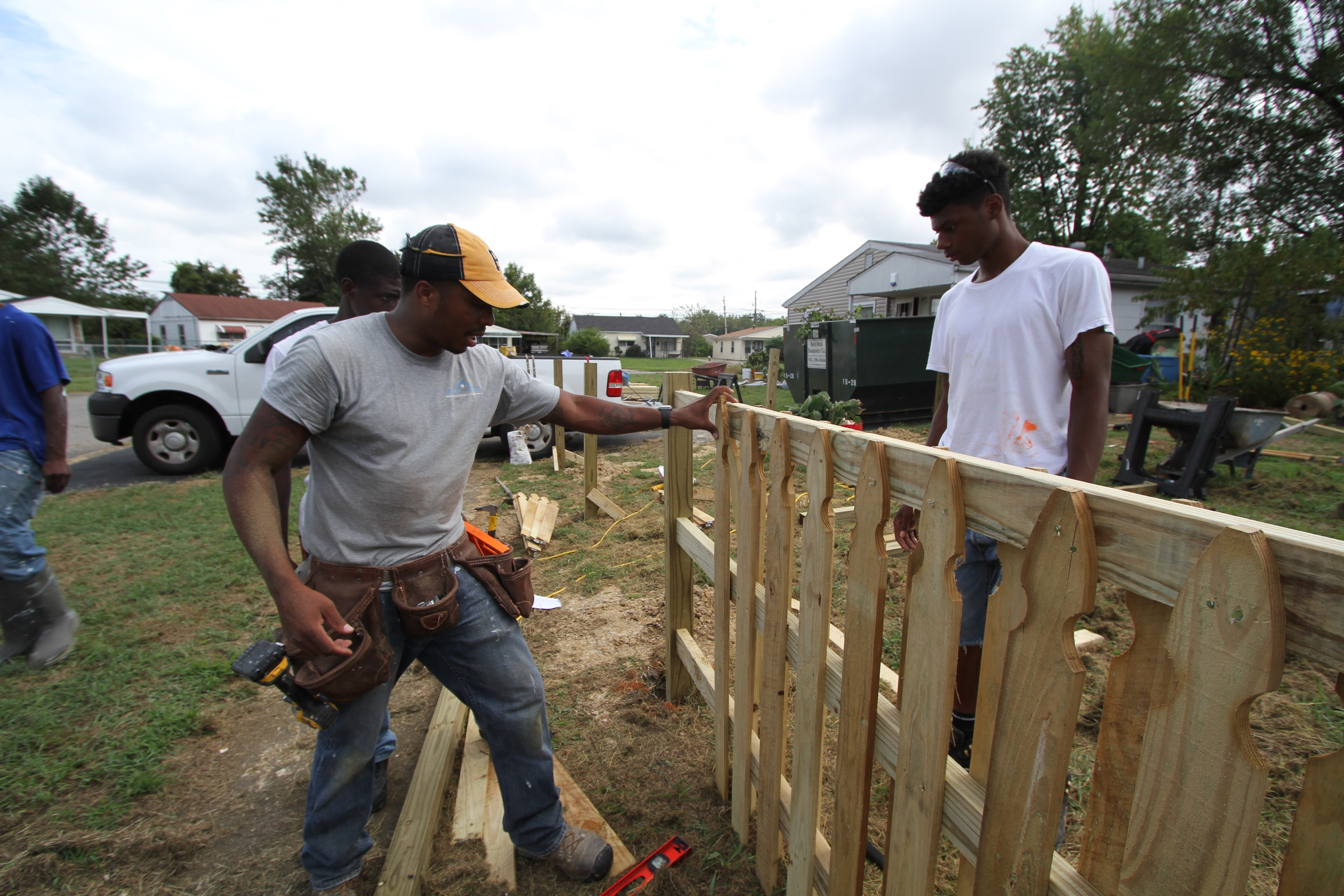 James Hooten turned left behind his criminal youth, and built a new life with help from the department's YouthBuild program.
