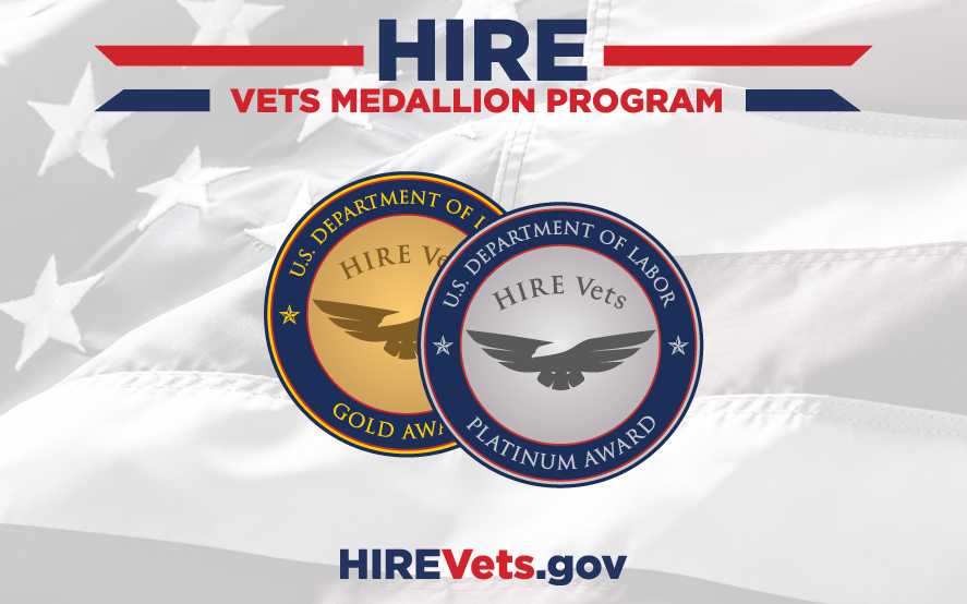 Hire Vets Medallion Program. HireVets.gov