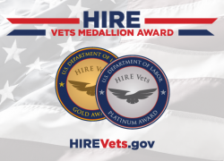 HIRE Vets Medallion Award