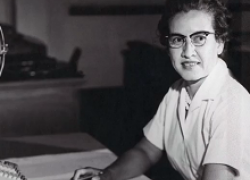 NASA research mathematician Katherine Johnson.