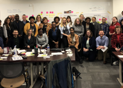 The Office of Compliance Initiatives organized a human-centered design class at the Office of Personnel Management's Innovation Lab in February 2020.