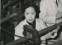 Physicist Chien-shiung Wu and her colleagues confirmed the theory of conservation of vector current.